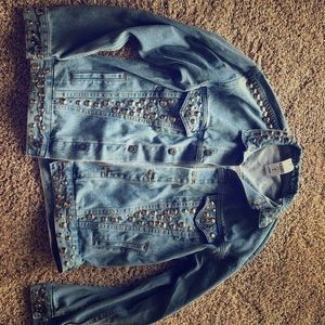 LF jean jacket perfect for fall
